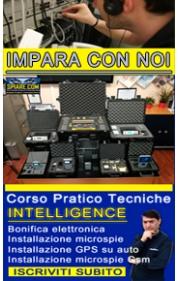Corso tecniche intelligence