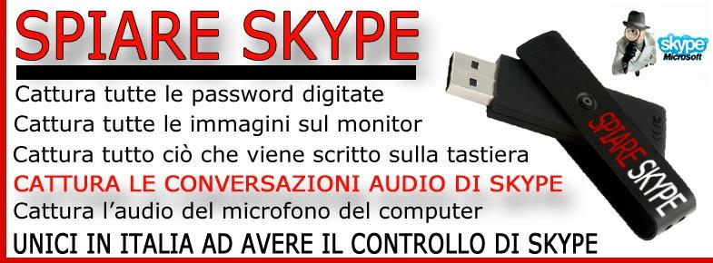 Spiare Skype